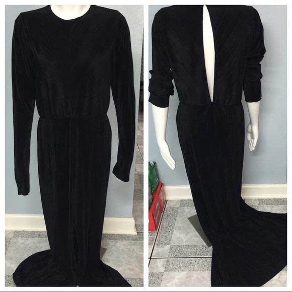 4494926482 Zara Women w/B Collection Fancy Long Dress Large